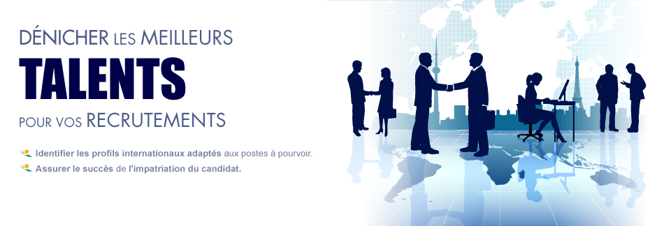 profils internationale pour recrutements